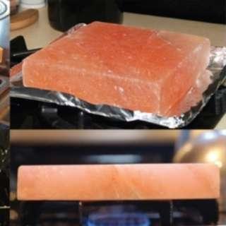 喜馬拉雅山食用粉紅岩鹽板 20 x 20 x 5 cm Himalayan pink salt block