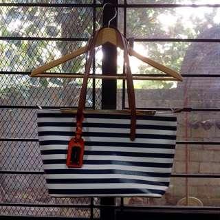 Authentic Aldo Stripes Bag