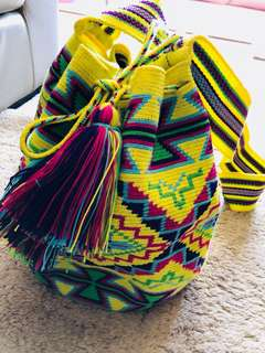 columbia wayuu纯手工 民族 包