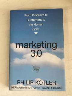 Book : Marketing 3.0 by Philip Kotler