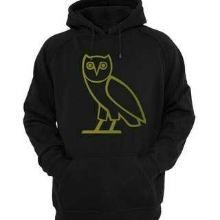 Jaket hoodie drake ovo gold