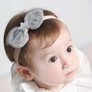 Baby Girl Kids Hair Accessories - Starry Lace Headband / Hairband