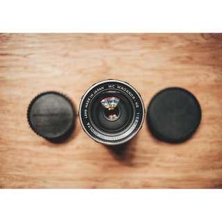 Minolta MC 35mm f2.8 vintage manual lens