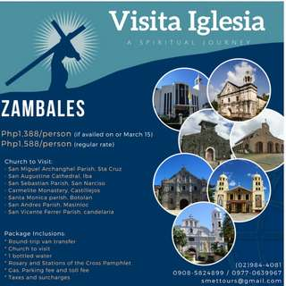 Visita Iglesia packages