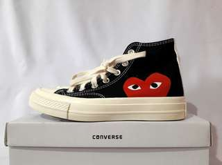 Converse Chuck Taylor All Star '70s High x Comme Des Garcons (CDG) Play