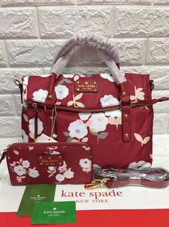 KS bag and wallet set