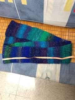 100%手織冷頸巾