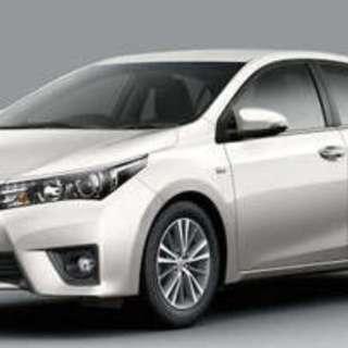 Toyota altis for uber/grab
