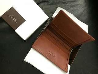 Fino leatherware brown wallet