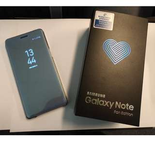 1 x Used Galaxy Note Fan Edition (FE)  (Malaysia Set)