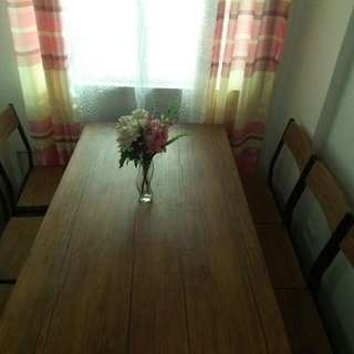 DINING TABLE RUSH FOR SALE P8000 ONLY!!