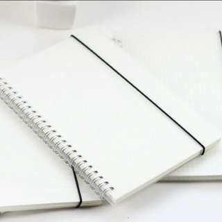 MUJI Style A5 Dotted Notebook