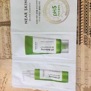 Near Skin PH Balancing Oil & Cleansing Foam
