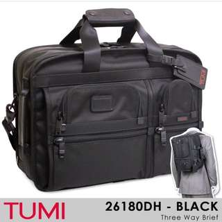 Tumi 3 way brief