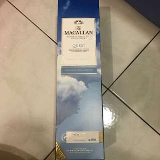 Macallan Quest Whiskey (1 Litre)