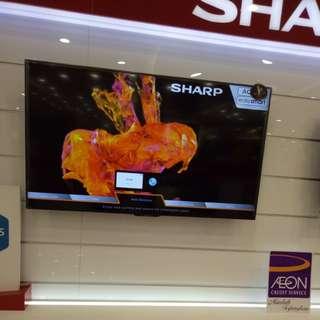 "Sharp LED TV 60"" bisa cicilan"