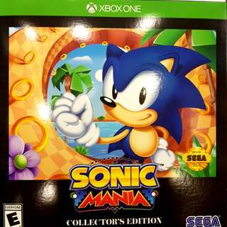 Xbox one sonic mania collectors edition