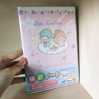Little Twins Star 簿 記事本 文具