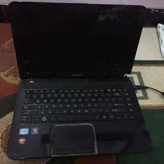 Laptop Toshiba satellite L840