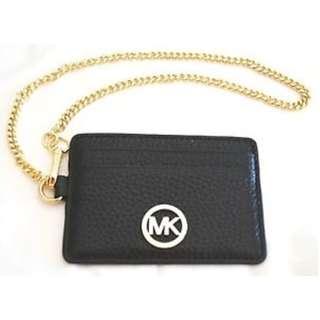 [全新保証正品] Michael Kors MK Fulton Leather Metro Pass Case #Black 皇牌真卡片夾 可放八達通 OCTOPUS卡片套 咭片套 名牌 女裝 生日禮物