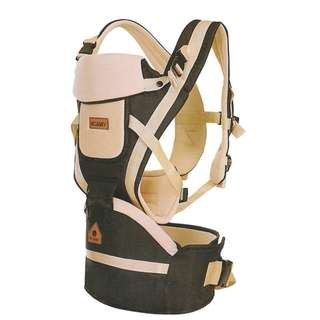 3 IN 1 WILLBABY BABY CARRIER WITH HIP SEA