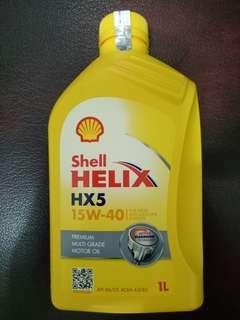 Oli Shell Helix Hx5 15w-40 1 liter