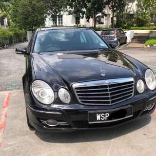 Mercedes Benz E230 2.5 (Auto)