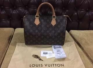 Louis Vuitton Speedy 30 2012 Excellent