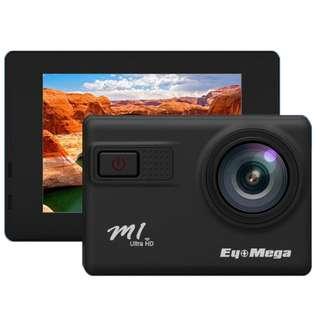 EyeMega M1 4K 多功能運動相機 超高清錄影 30米防水