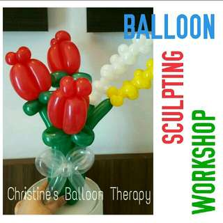MARCH HOLIDAY! BALLOON BOUQUET WORKSHOP
