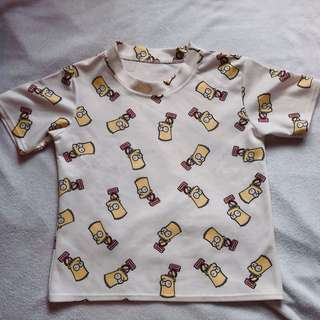 Preloved Simpson's Shirt