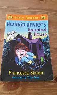 Horrid henry's haunted house story book