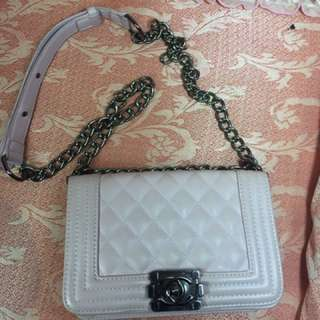 CHANEL Chain Handbag