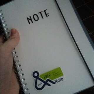 A5 Blank Notebook