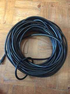 64 feet cable wire coaxial cable  cord Philflex
