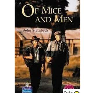 SECONDARY SCHOOL LITERATURE BOOK: OF MICE AND MEN by John Steinbeck
