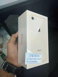 IPhone 8 64Gb Gold New Tanpa Kartu KREDIT