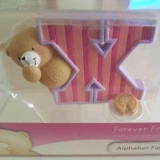 Precious Moment Alphabet Letter X
