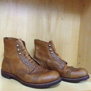 Red Wing Shoes 8112 Iron Ranger