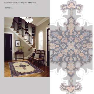 SAMEYEH LOT NO 0032 FARAHAN FROM CENTRAL PERSIA 200 X 138 CM