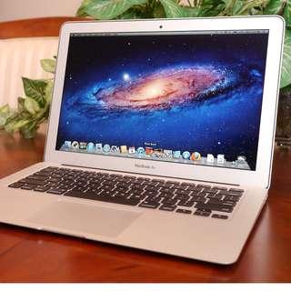 Macbook Air 13 Inch Mid 2012 8GB RAM 128GB SSD
