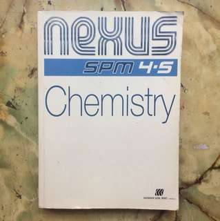 SPM Chemistry (Nexus) [Reduced price]