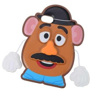 日本 Disney Store 直送 Toy Story 反斗奇兵薯蛋頭先生 iPhone 6/6S/7/8 保護殻 / iPhone Case