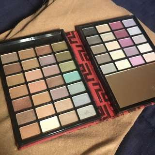 Sephora 48-color eyeshadow palette with mirror