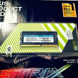 Antec Memory Ram 4GB DDR4 2400MHZ