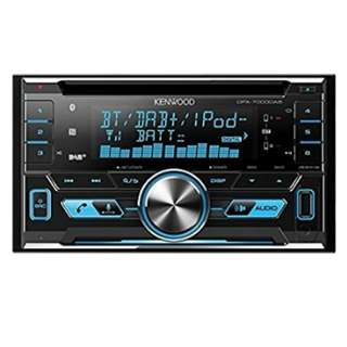 Kenwood DPX-7000DAB Car Stereo CD-Receiver With Bluetooth USB/AUX Inputs & DAB Radio