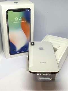 Terima Cicilan Iphone X 256gb Silver New