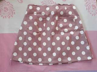 Polka Dot Skirt from Jukaykay