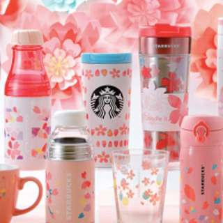 Starbucks Japan Sakura 2018 Petal stainless steel tumbler 355ml
