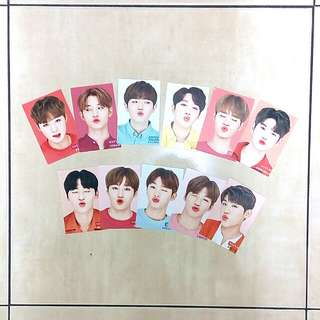 [Ready Stock] Wanna One unofficial photocard